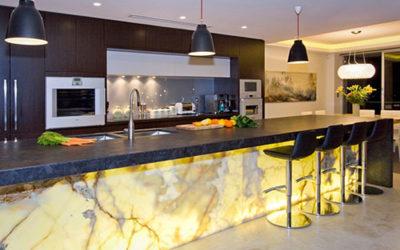 Natural Stone Slab for Louisiana Kitchens